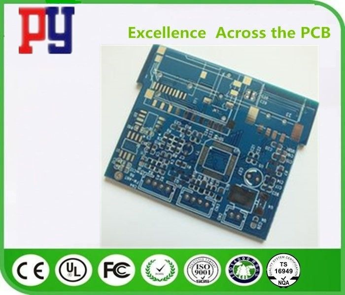 Immersion Tin Fr4 Single Sided PCB Board For Automobile Control Gold Finger
