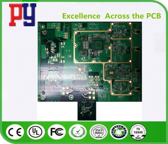 1OZ Copper Thickness Printed Circuit Board Assembly 6 Layer High Precision Prototype