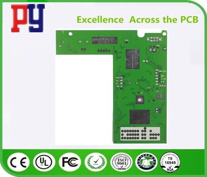 Base Material FR-4 Double Sided PCB Board Fr4 1.6MM Thickness Long Lifespan
